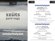 INVITATION TO THE OPENING CEREMONY OF WINTERHELYZET EXHIBITION - 13/05/2019 19:00 CET