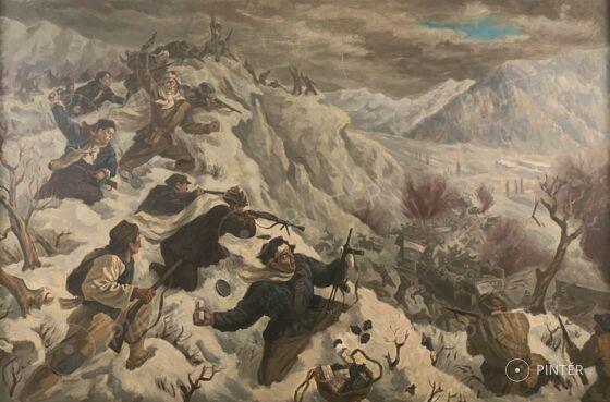 Kínai festő: Partisan attack