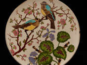 Bird Decorated Schütz Cilli Plate