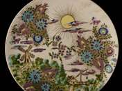 Landscape Decorated Schütz Cilli Plate