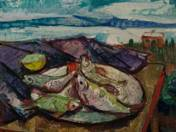 Still Life with Fish and Balaton