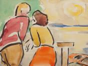 Lovers at the Balaton