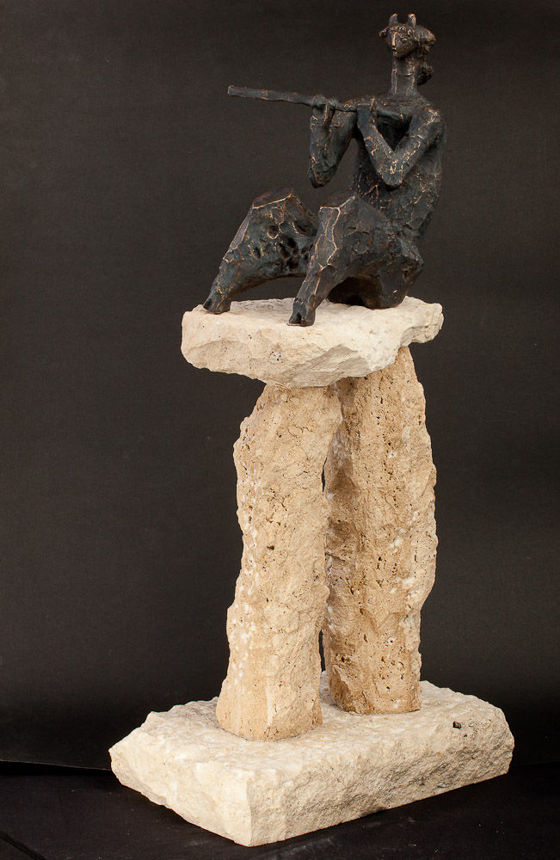 Indian Summer - Auction of Autumn — Sculpture, plaque