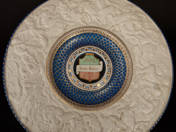 Zsolnay Ornamented Plate
