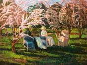 In Sunny Spring Garden
