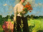 Lady with Poppys