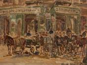 Market on Hunyadi Square