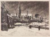 Matthias Church in Winter