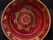Zsolnay Dish with Millennium Decor