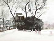 Tata Castle in Winter