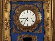 Biedermeier frame clock