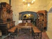 Renaissance dining set 13 pcs
