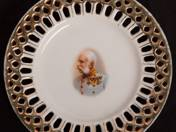 4 pc plate with Joseph Francois