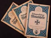 Belhagen & Klafings Monatshefte 1915-16 3 pcs