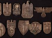 Copies of German Imperial Badges (11 pcs)