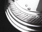 Pest  silver candelabrum