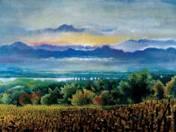 Landscape at Dráva river