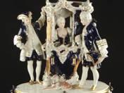 Royal Dux Rococo Scene