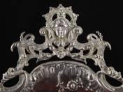 Vienna Rococo Silver Offering Bowl