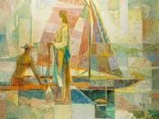 Pier on Balaton (1962)