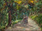 Walk in the Small Forest at Balatonfüred (1950s)