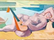Nude with mandolin