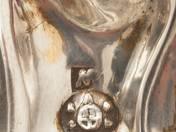 Vienna Antique Silver Spice Holder