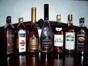 174 pieced collection of cognac, whisky and brandy
