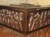 Szécsi box with hungarian decor