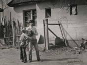 Children at the gypsy yard, 1962