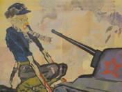 Propaganda poster (Nazi zombie)