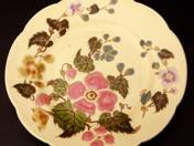 Zsolnay Plate with Flower Decoration