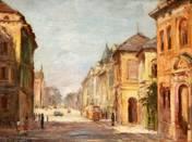 Vörösmaty Street on Szeged