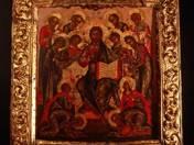 Christ with Saints Icon