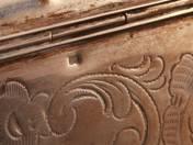 Vienna Silver Sugarbox with Key