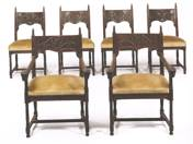 6 pcs Historical Dining room Chairs