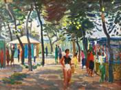 Promenade at the Balaton