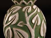 Vase with phallic leaf motiv
