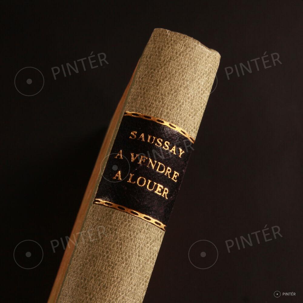 Saussay victorien du a vendre a louer pinter auctions - A vendre a louer paris ...