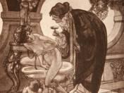 Franz von Bayros: Bilder aus dem Boudoir der Madame C. C. (1912) 10/30