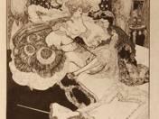 Franz von Bayros: Ex libris - in portfolio, 12 pieces