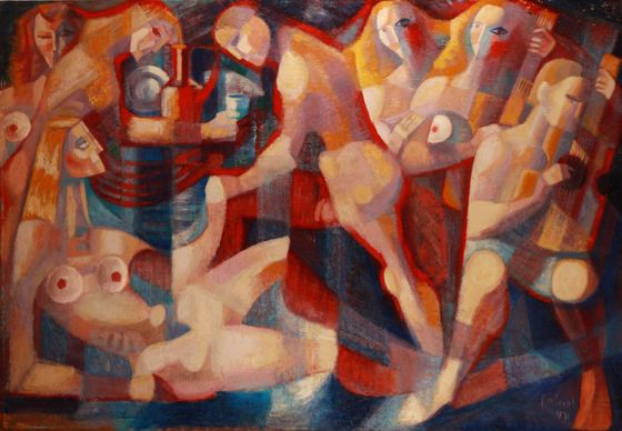 Online Art Auction — Paintings, graphics