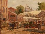 Market of Pest, 1924