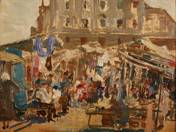 Market of Pest, 1924