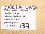 György Kádár: Plant in a Vase