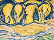 Yellow Blue Landscape, 1914