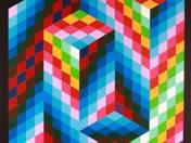 Space-shape-color composition