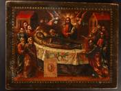 Russian icon - Falling Asleep of Theotokos
