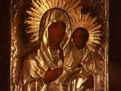 Icon - Mother of God with Little Jesus