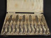 Historical silver Fish-Set